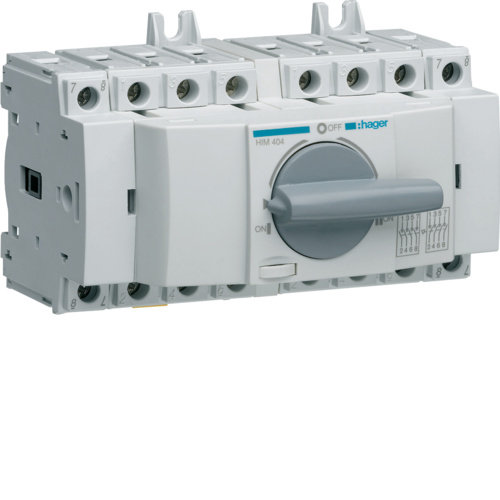 Hager Hager Load- Switch from 40A to 100A