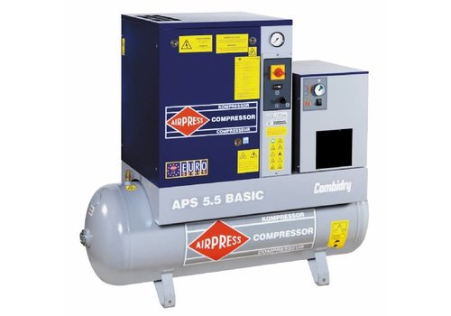 Airpress APS 7.5 BASIC COMBI DRY