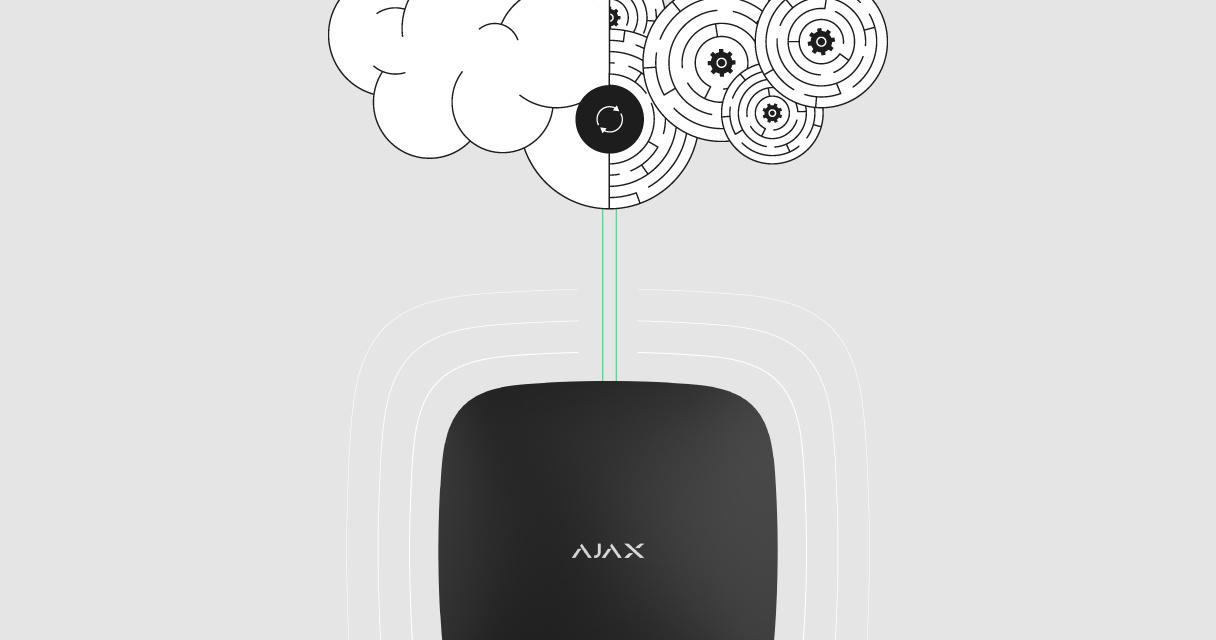 De update-procedure van het Ajax besturingssysteem