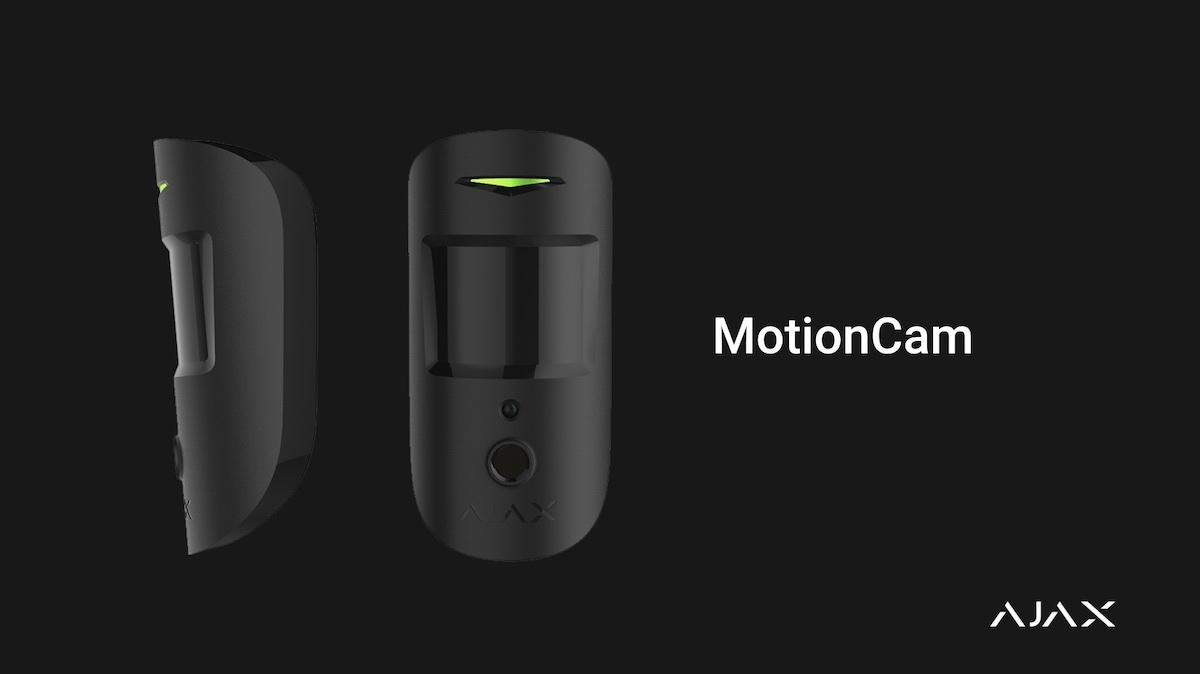 Ajax MotionCam : un détecteur de mouvement avec enregistrement photo