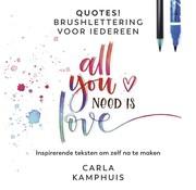 Quotes! Brushlettering voor iedereen