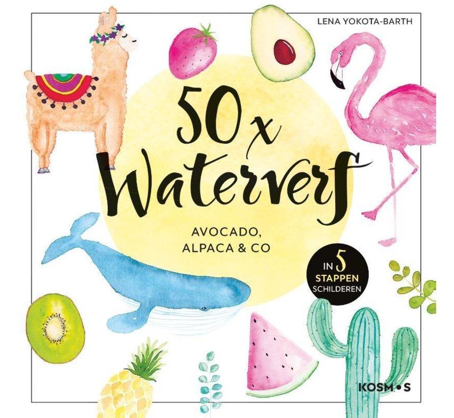 50x waterverf