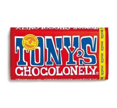 Tony's Chocolonely reep melk 180 gram