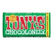 Tony's Chocolonely - Classic Melk Hazelnoot, 180 gram