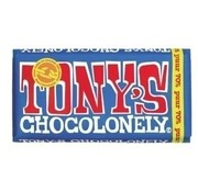 Chocolade Tony's Chocolonely reep 180gr puur