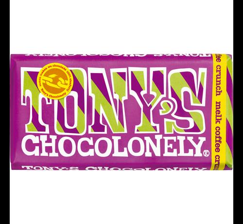 Tony's Chocolonely melk coffee crunch 180 gram