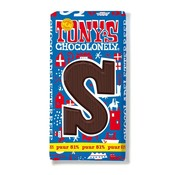 Tony's Chocolonely Letterreep S - Puur 180gr