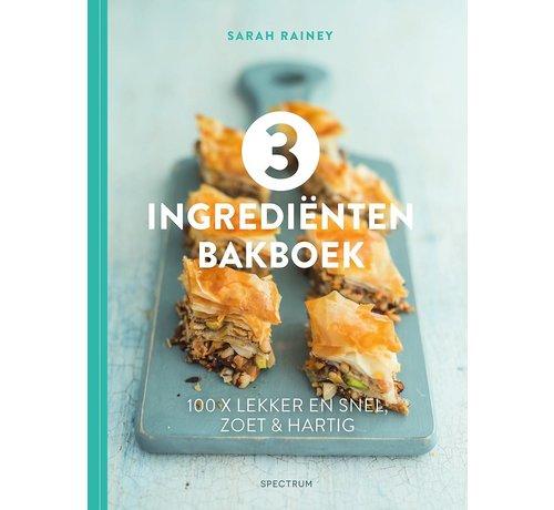 3 ingrediënten bakboek