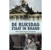 De Rijksdag staat in brand
