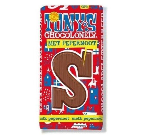 Tony's Chocolonely melk pepernoot S 180 gr