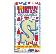 Tony's Chocolonely 180 Gram Wit Letterreep S