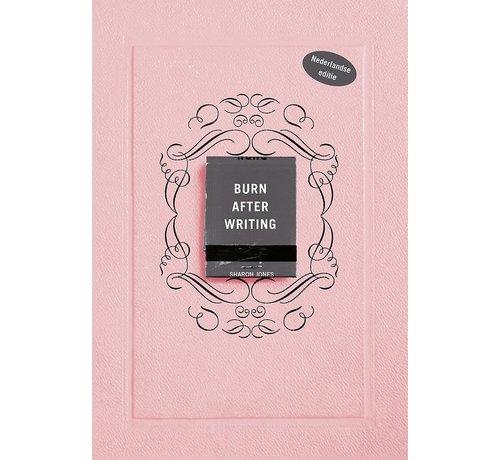 Burn after writing - Nederlandse editie - Roze