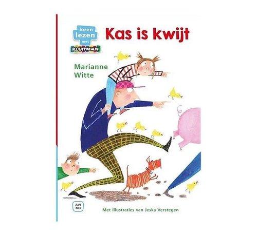 Boek Leren Lezen met Kluitman AVI M3 Kas Is Kwijt