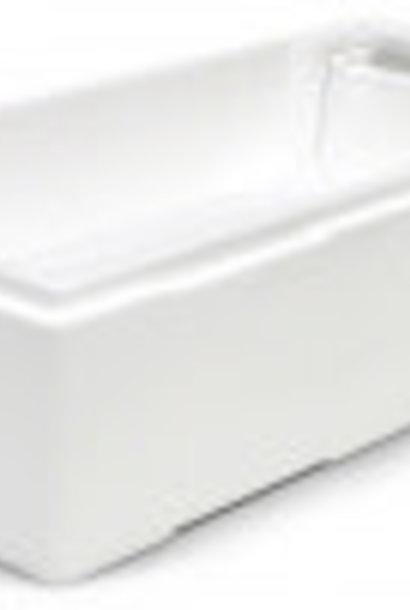 Feeder for nuc box in styropor