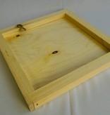 Couvre-cadres pour ruche Warré modifié