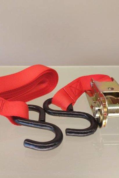 Tensioning strap 5 meters + hooks