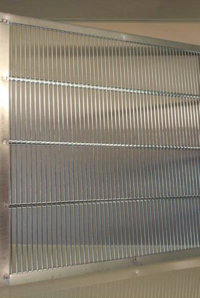 Galvanisé grille a reine – 360 x 360