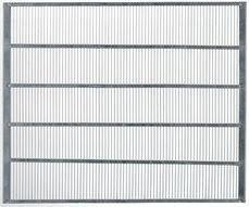 Gegalvaniseerde koninginnerooster - 435 x 435 mm-1