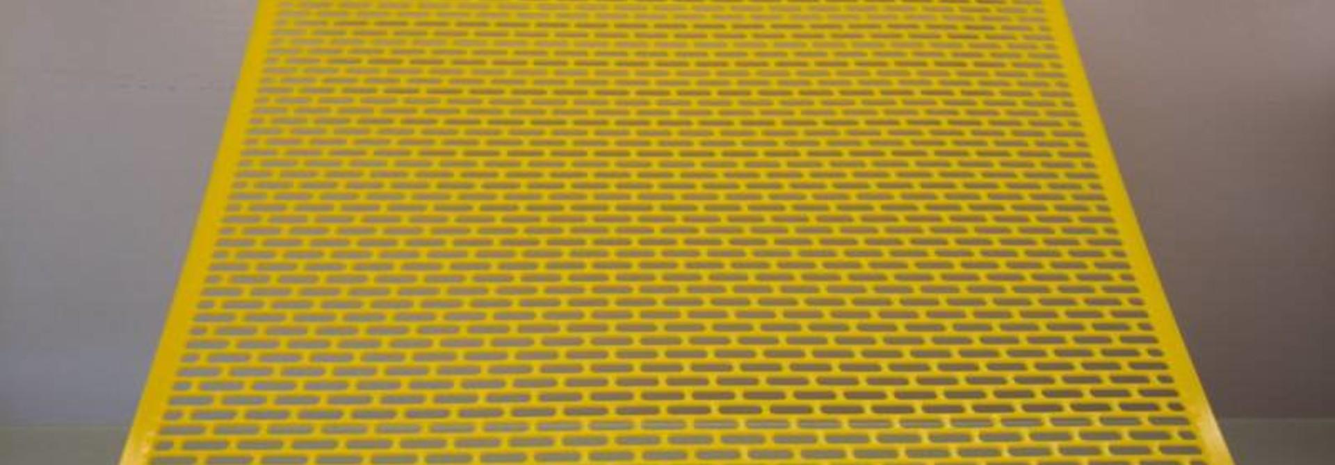 PVC koninginnerooster 500 x 500 mm