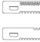 Entrance slide 380mm (open/open) + conductors