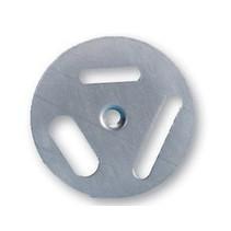 Inox turndisque - 3 options - 5 pieces