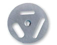 Inox draaischijf - 3 opties - 5 stuks-1