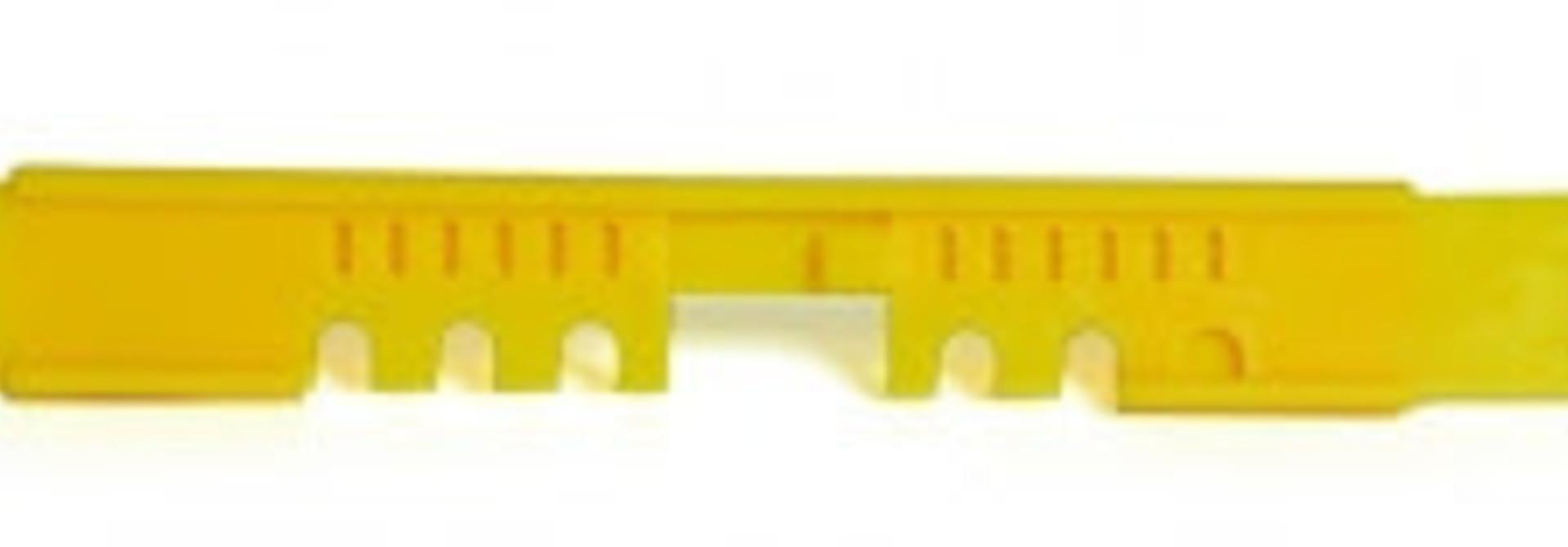 Glissière PVC
