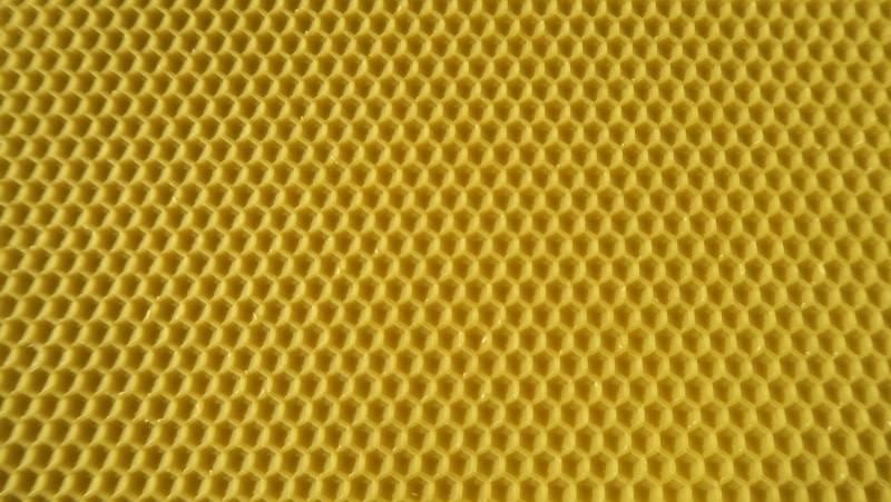 Dadant blatt wax waffle broodchambre - poured