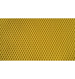 Dn brood frame wax waffle- poured