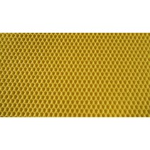 Langstroth - wax waffle - walsed