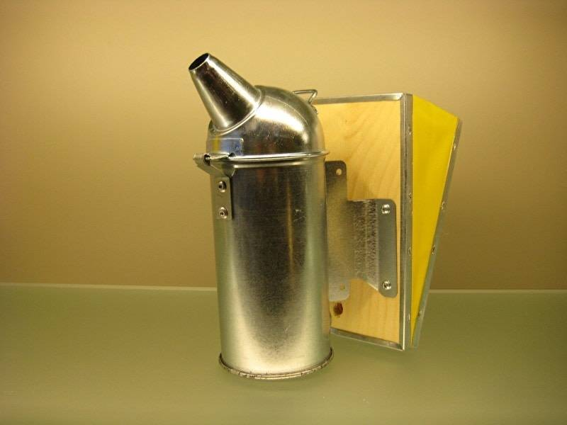 Galvanised smoker (80mm)