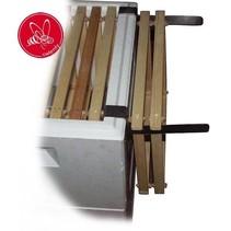 Inox frame holder - Duits-Normaal