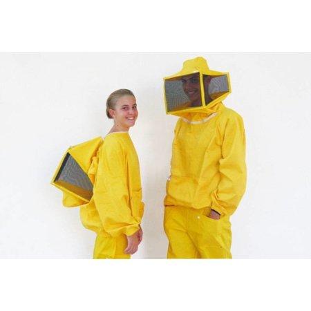 Gilet d'apiculteur avec voile carré - femmes