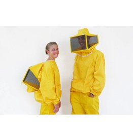 Beekeepersjacket with square veil - male