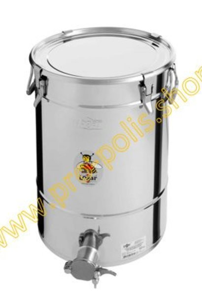 Honey ripener Lega 50 kg with inox cutting tap and hermetic seal