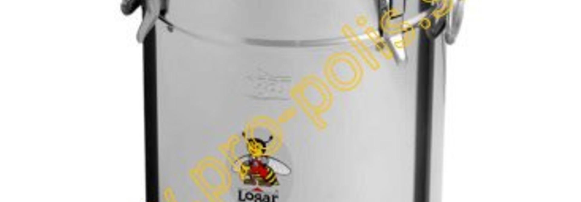Rijper Logar 35 kg met inox snijkraan en hermetische dichting