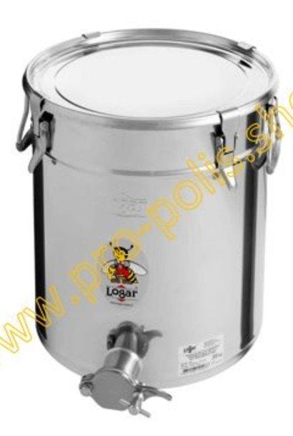 Maturateur Logar 35 kg avec inox robinet et joint hermétique