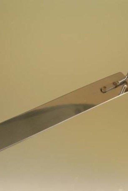 Inox couteau – plat – 28cm