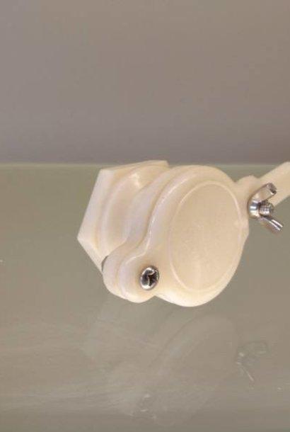 Plastic cutting tap + backnut