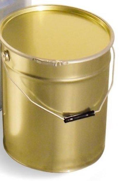 Metal bucket 25 kg + lid