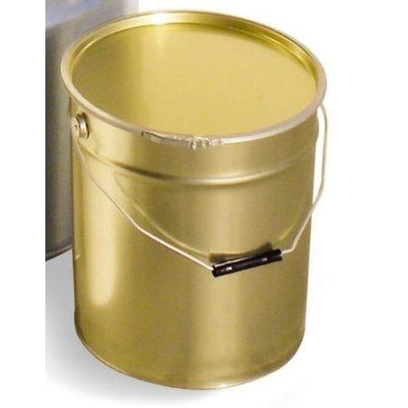Metalen emmer 25 kg + deksel