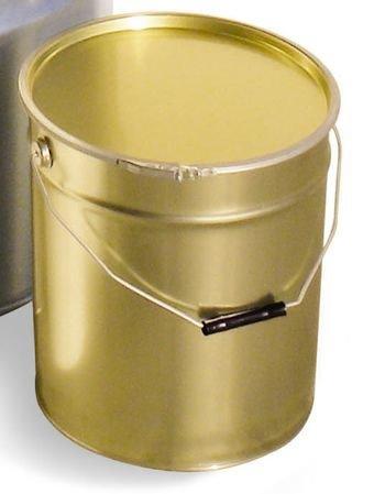 Metalen emmer 25 kg + deksel-1