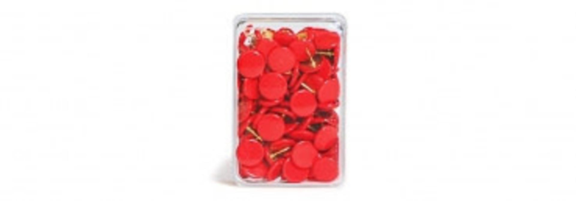 Punaises rood - 100 stuks