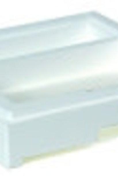 Mini-Plus bottom + feedhole (bottom 1)