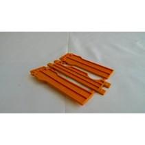 Orange cadre Apidea