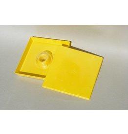 Vierkante voederbak - 1.5liter