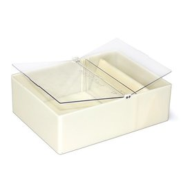 Vierkante voederbak Bieno®Plast - 2 liter