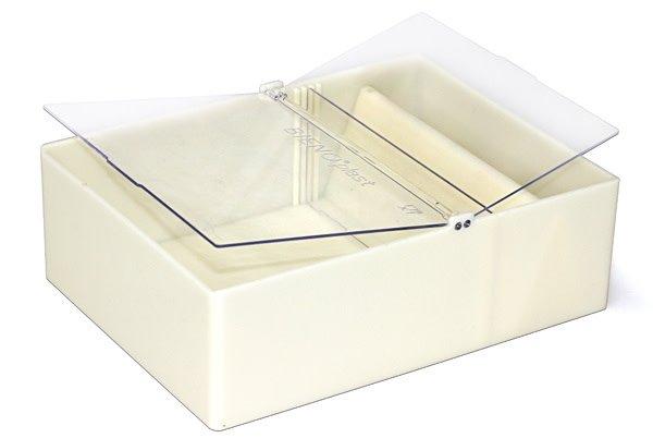 Vierkante voederbak Bieno®Plast - 2L-1