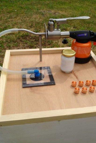 Sublivar - évaporateur d'acide oxalique – ensemble complet