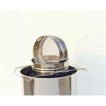 Stainless steel strainer for Lega - 200 kg
